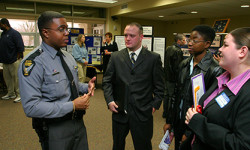 Criminal Justice career fair DVD 444 CD 344